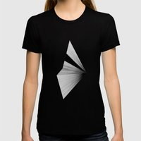 Half 2 Womens Fitted Tee Black SMALL
