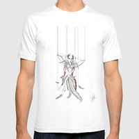 Rouge Gorge Mens Fitted Tee White SMALL