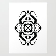 Secrets of the Sea Art Print