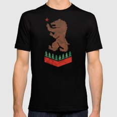 California Sigil SMALL Black Mens Fitted Tee