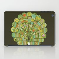 Peacock at Dawn iPad Case