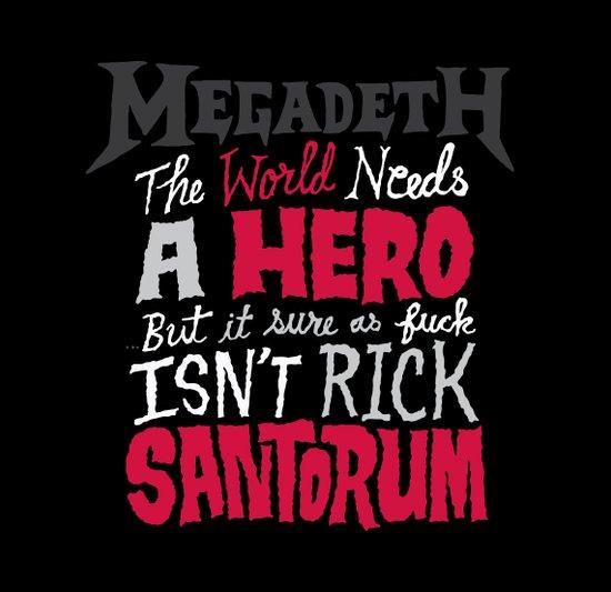 MegaSantorum Art Print