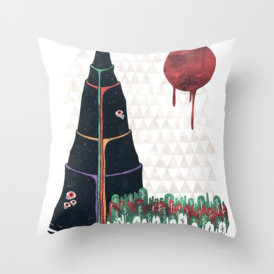 Holy Mountain Throw Pillow