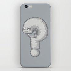 Le Penseur iPhone & iPod Skin