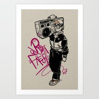 Birth Of Fresh. Art Print
