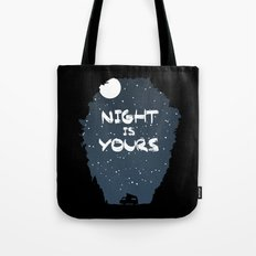 Night Is Yours Tote Bag