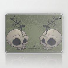 Skull Garden Laptop & iPad Skin