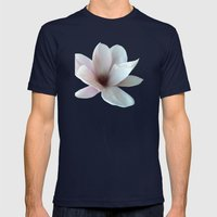 Magnolie -magnolia Mens Fitted Tee Navy SMALL