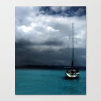 Stormy Sails Canvas Print
