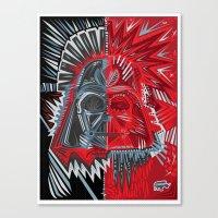 Deconstruct Vader Canvas Print