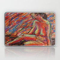 Hypatia on Fire Laptop & iPad Skin