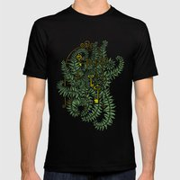 Jailed fern Mens Fitted Tee Black SMALL