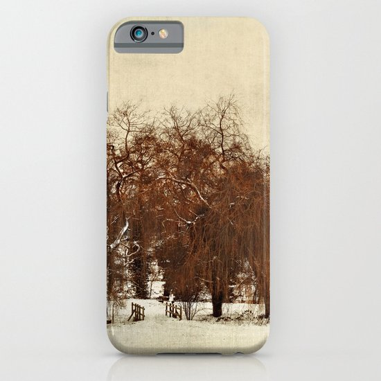 Winter Red iPhone & iPod Case