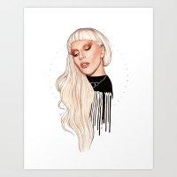 LG x AW Art Print