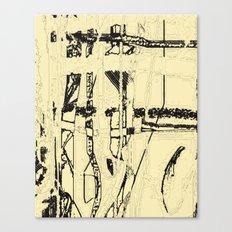 Plaid de mode Canvas Print
