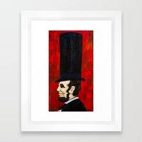 Abraham Lincoln -f Framed Art Print