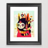 Kokowo Framed Art Print