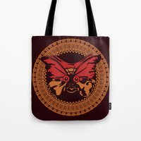 Puppet Butterfly Tote Bag