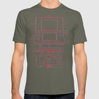3DS Mens Fitted Tee Lieutenant SMALL
