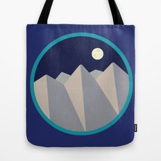 Day Mountain, Night Mountain Tote Bag