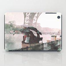 Paris Rain iPad Case