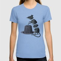 Deconstructed mouse Womens Fitted Tee Athletic Blue SMALL