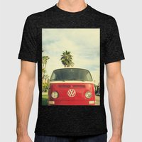 VW Coastin' Mens Fitted Tee Tri-Black SMALL