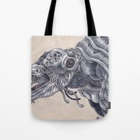 Deep Sea Creature Tote Bag