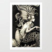 fish story Art Print
