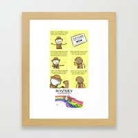 Antics #016 - some kind of mystery machine Framed Art Print