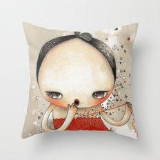 L.U.S.T Throw Pillow