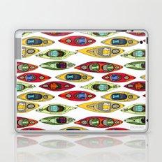 I Heart Kayaks Pattern Laptop & iPad Skin