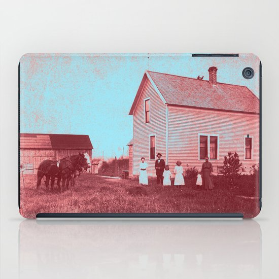 Early Settlers iPad Case