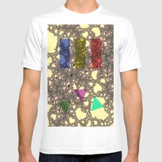 volcano II forms Mens Fitted Tee White SMALL