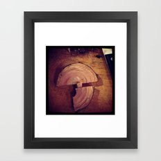 Meat Time Framed Art Print