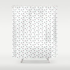 Watercolor´s dots Shower Curtain