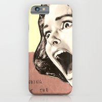 iPhone & iPod Case featuring Thinking about the future by Eva Squall