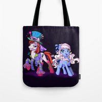 Mad T Ponies 'Alice and Tarrant' Tote Bag