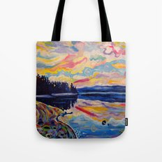 The Denman Sunrise Tote Bag