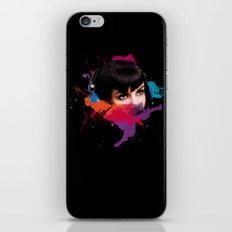 sexy stereo::famke iPhone & iPod Skin