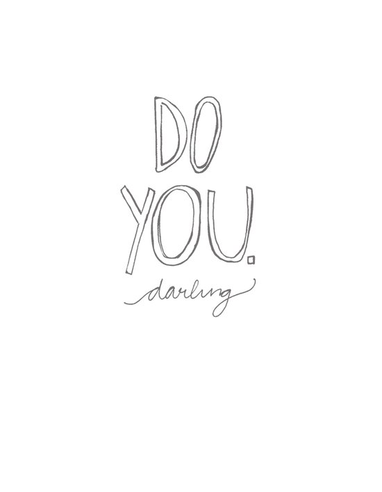 Do You, Darling Canvas Print