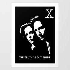 The Truth Is Out There Art Print