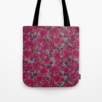 Roses In Mauve Tote Bag