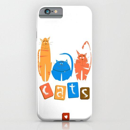 c a t s ! iPhone & iPod Case