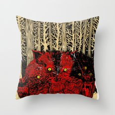 HELL WOLVES Throw Pillow
