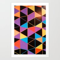 Colors And Forms Art Print