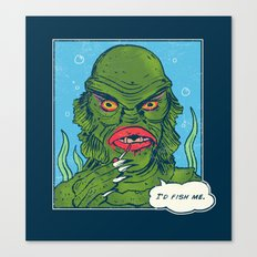 The Sultry Lagoon Canvas Print