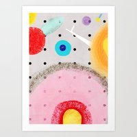 Sometimes we try too hard other times is flowing so natural. Art Print