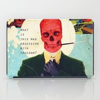 What Is This Mad Obsession With Freedom? iPad Case