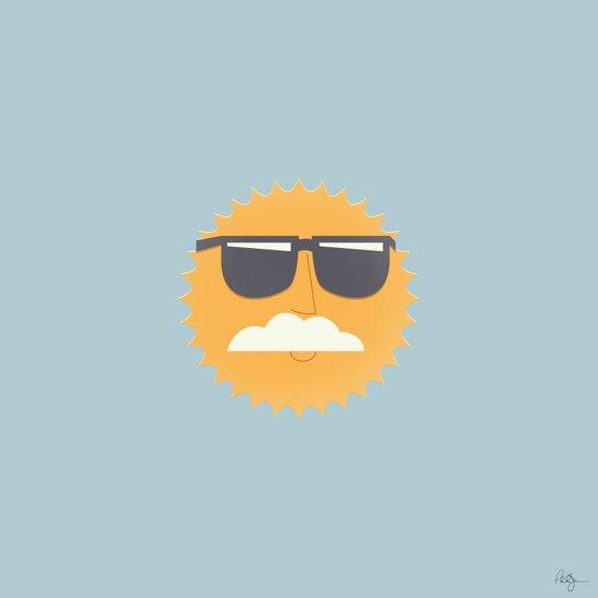 Sun Disguised Art Print